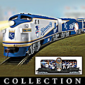 Kansas City Royals World Series Champions Train Collection