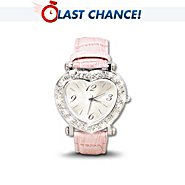 The Bradford Exchange A Daughter's Love Heart-Shaped Keepsake Watch With Interchangeable Bands at Sears.com