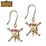 The Bradford Exchange Pirates Of The Caribbean At World's End Earrings With Swarovski Crystals at Sears.com