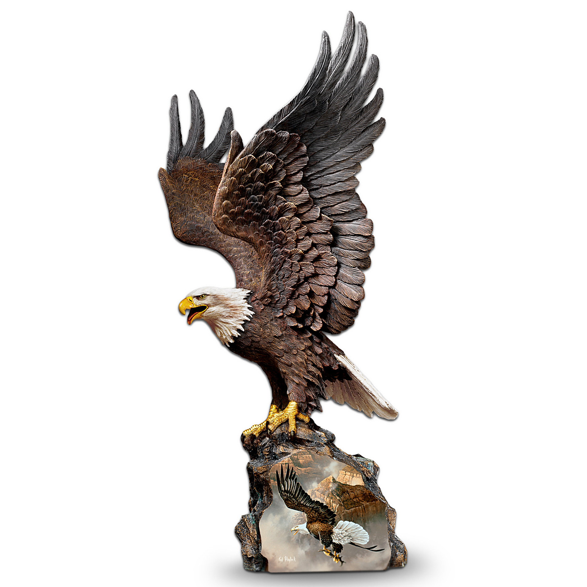 The Bradford Exchange Collectible Eagle Art Sculpture: Canyon Guardian at Sears.com
