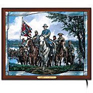 The Bradford Exchange Confederacy Pride Artistic Stained-Glass Panorama: The Pride Of The South at Sears.com