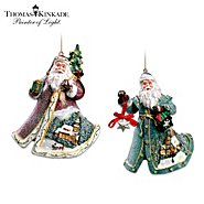 The Bradford Exchange Thomas Kinkade Ornament Set: Rejoice In The Season And Gifts Of Good Cheer at Sears.com