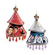 The Bradford Exchange Elvis Presley Christmas Ornament Set: Heartbreaker And Timeless Legend at Sears.com