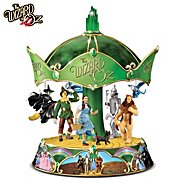 The Bradford Exchange The Wizard Of Oz Heirloom Porcelain Carousel Music Box at Sears.com