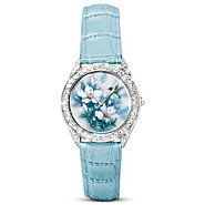 The Bradford Exchange Lena Liu Artistic Watch With Swarovski Crystals: Crown Jewels Of Nature at Sears.com