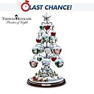 The Bradford Exchange Thomas Kinkade Jingle All The Way Bell Ornament Tabletop Christmas Tree at Sears.com