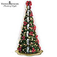 The Bradford Exchange Thomas Kinkade Pre-Lit Pull-Up Christmas Tree: Wondrous Winter at Sears.com
