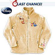 The Bradford Exchange Disney Winnie The Pooh Characters Fleece Jacket: It's More Snuggly With You at Sears.com