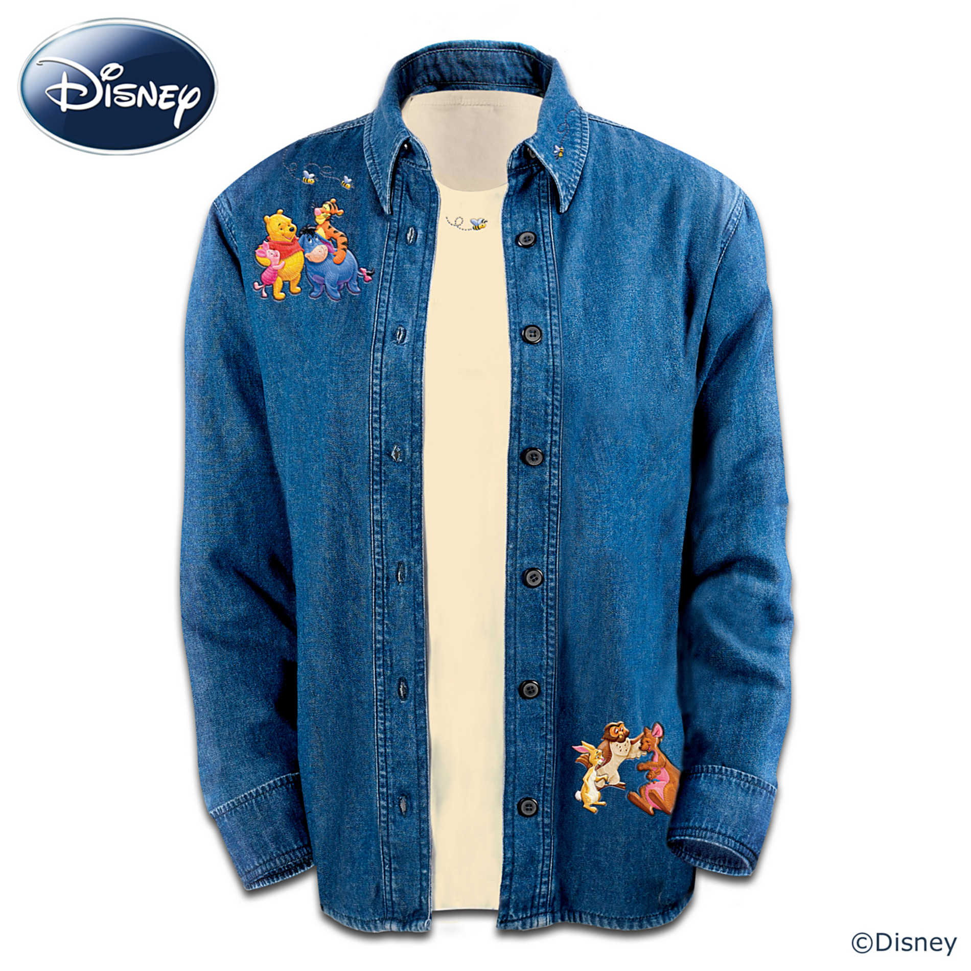 The Bradford Exchange Disney Winnie The Pooh Characters Shirt Set: It's More Fun With Friends at Sears.com