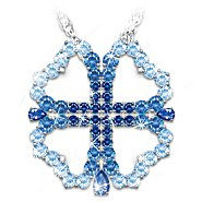 The Bradford Exchange Convertible Swarovski Crystal Daughter Necklace: Faith And Love at Sears.com