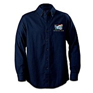 The Bradford Exchange US Navy Embroidered Button Down Shirt: Honor And Valor at Sears.com