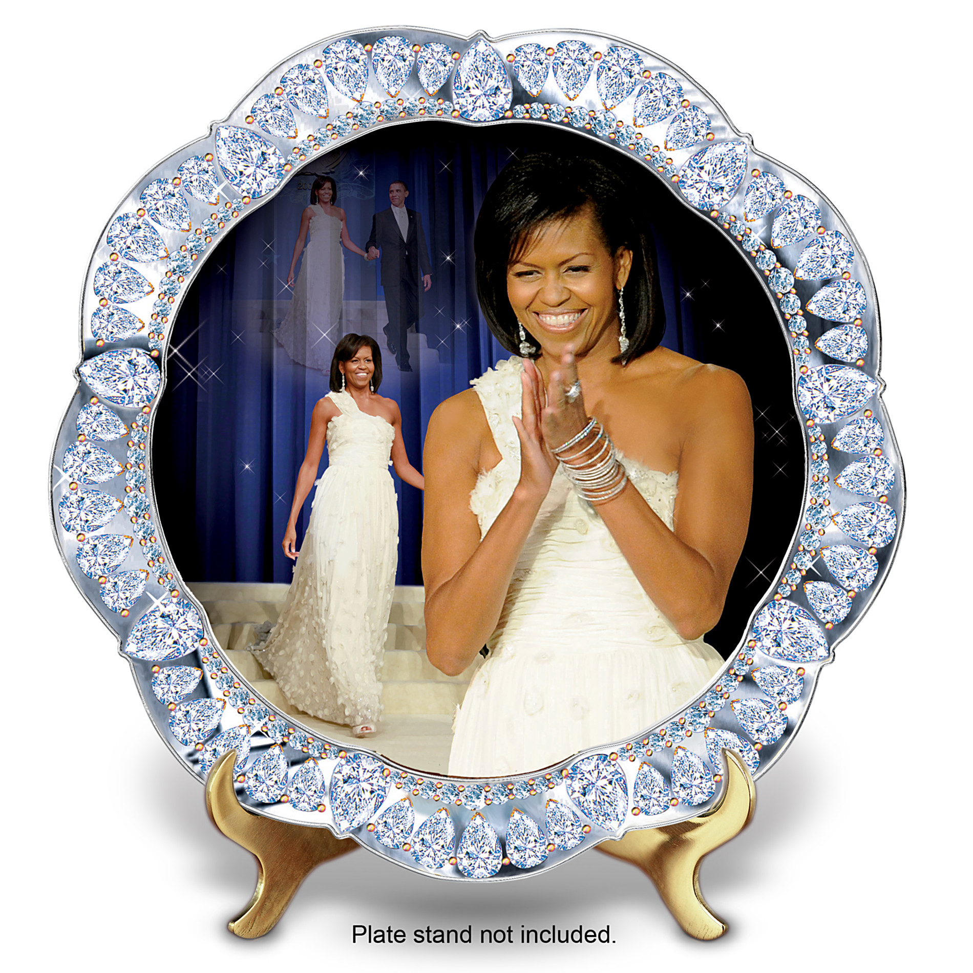 The Bradford Exchange Michelle Obama: Inaugural Events Plate Collector Plate at Sears.com