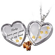 The Bradford Exchange Always In My Heart Personalized Dachshund Locket Pendant Necklace at Sears.com