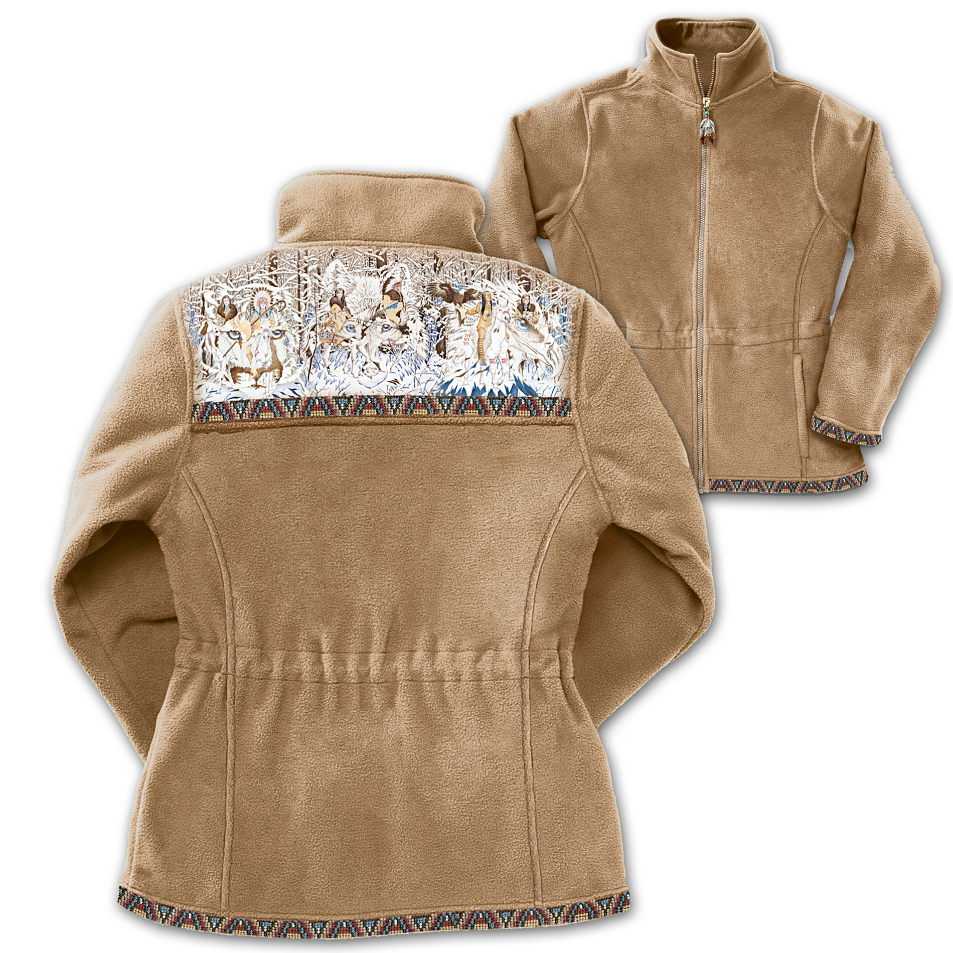 The Bradford Exchange Spirits In The Wilderness Fleece Jacket at Sears.com