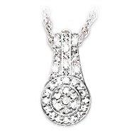 The Bradford Exchange Message Of Love Diamond Pendant Necklace at Sears.com