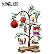 The Bradford Exchange Tabletop Tree: PEANUTS Classic Holiday Memories Tabletop Tree at Sears.com