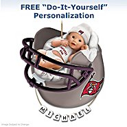 The Bradford Exchange Tampa Bay Buccaneers Personalized Baby's First Christmas Ornament at Sears.com