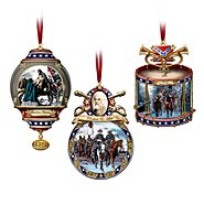 "The Bradford Exchange ""Home For The Holidays"" Civil War Ornament Set at Sears.com"
