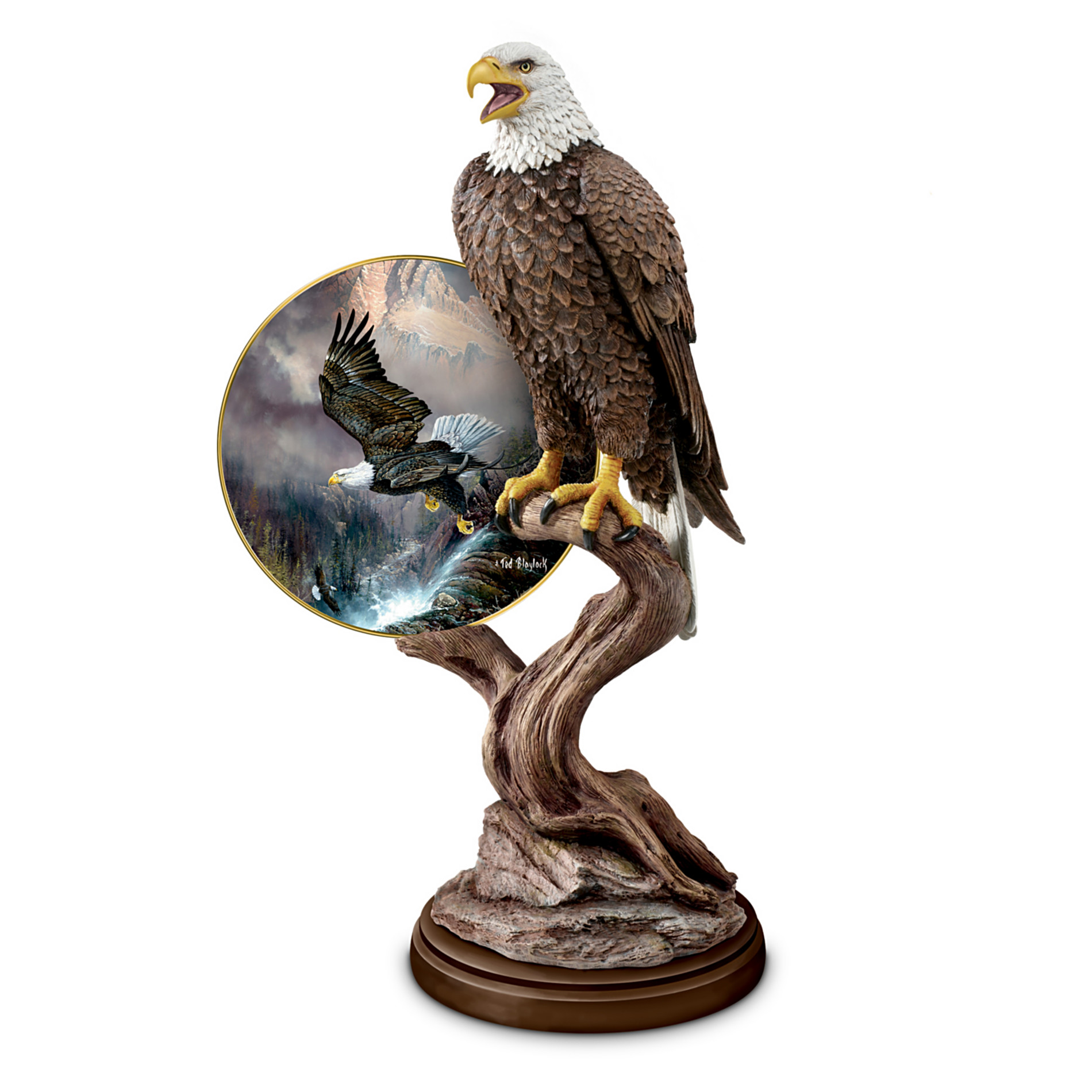 The Bradford Exchange Regal Guardian Artistic Bald Eagle Sculpture at Sears.com