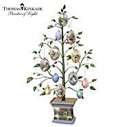 The Bradford Exchange Thomas Kinkade Easter Blessings Heirloom Porcelain Egg Tabletop Tree at Sears.com