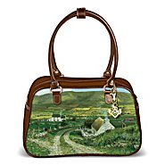 """The Bradford Exchange """"A Touch Of Ireland"""" Purse With A Free Detachable Claddagh Keychain at Sears.com"""
