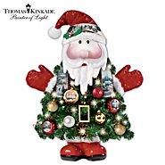 The Bradford Exchange Thomas Kinkade Ho-Ho-Home For The Holidays Pre-Lit Christmas Tree at Sears.com