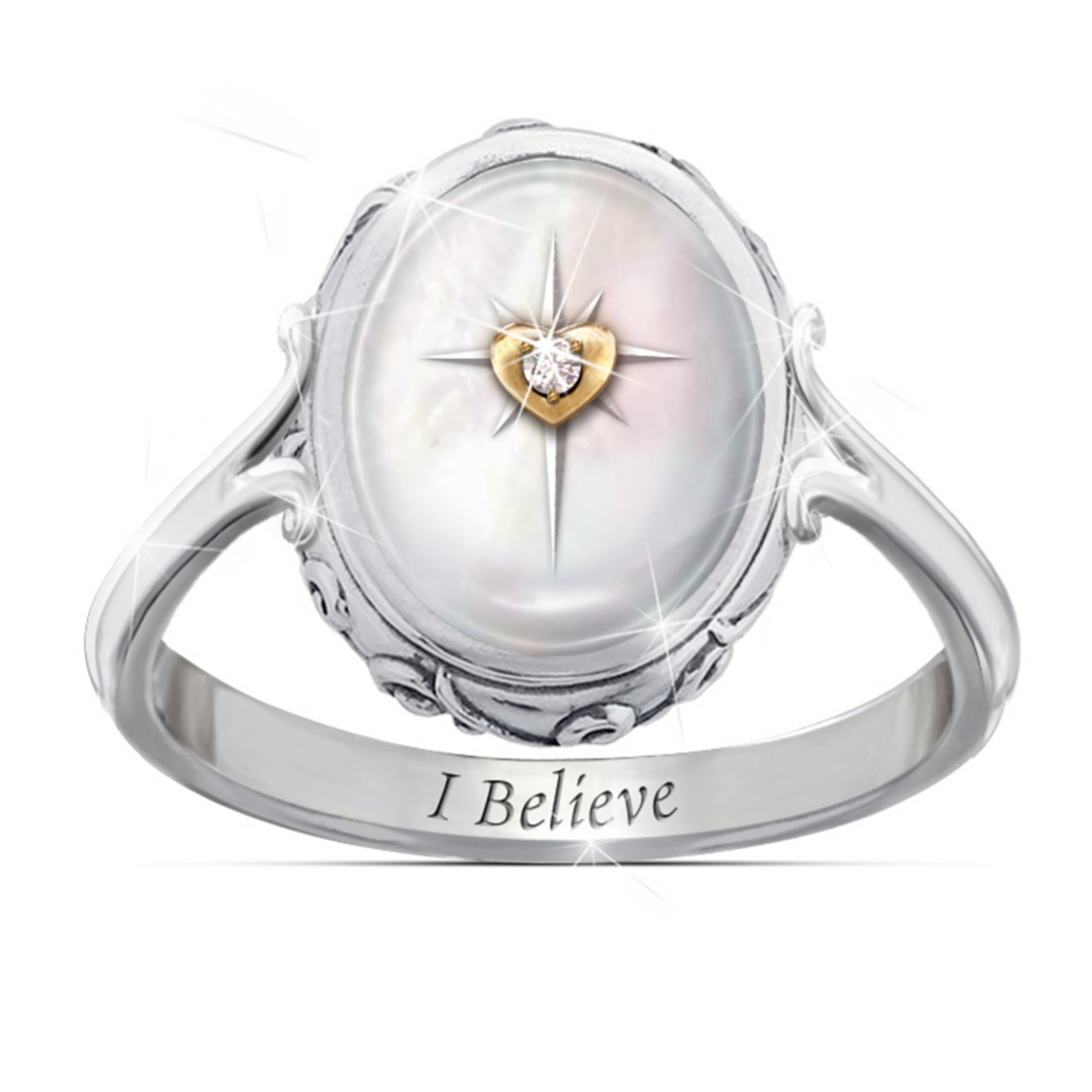 The Bradford Exchange U.S. Navy Men's Ring: For My Sailor