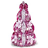The Bradford Exchange Breast Cancer Awareness 2-Ft Pre-Lit Pull-Up Christmas Tree at Sears.com