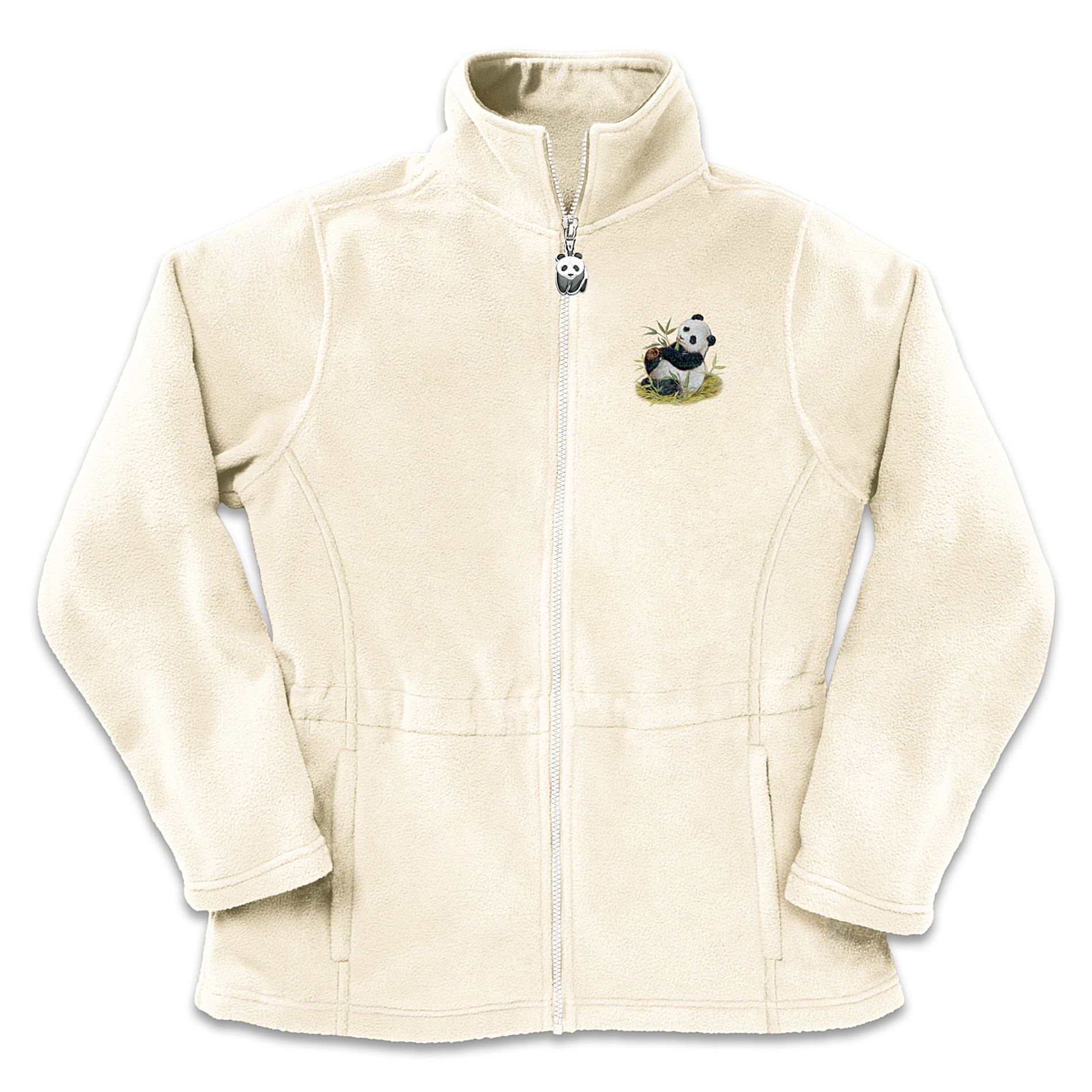 The Bradford Exchange Panda Art Women's Fleece Jacket: Mother's Love at Sears.com