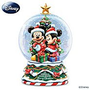 The Bradford Exchange Disney A Swell Holiday Miniature Snowglobe at Sears.com