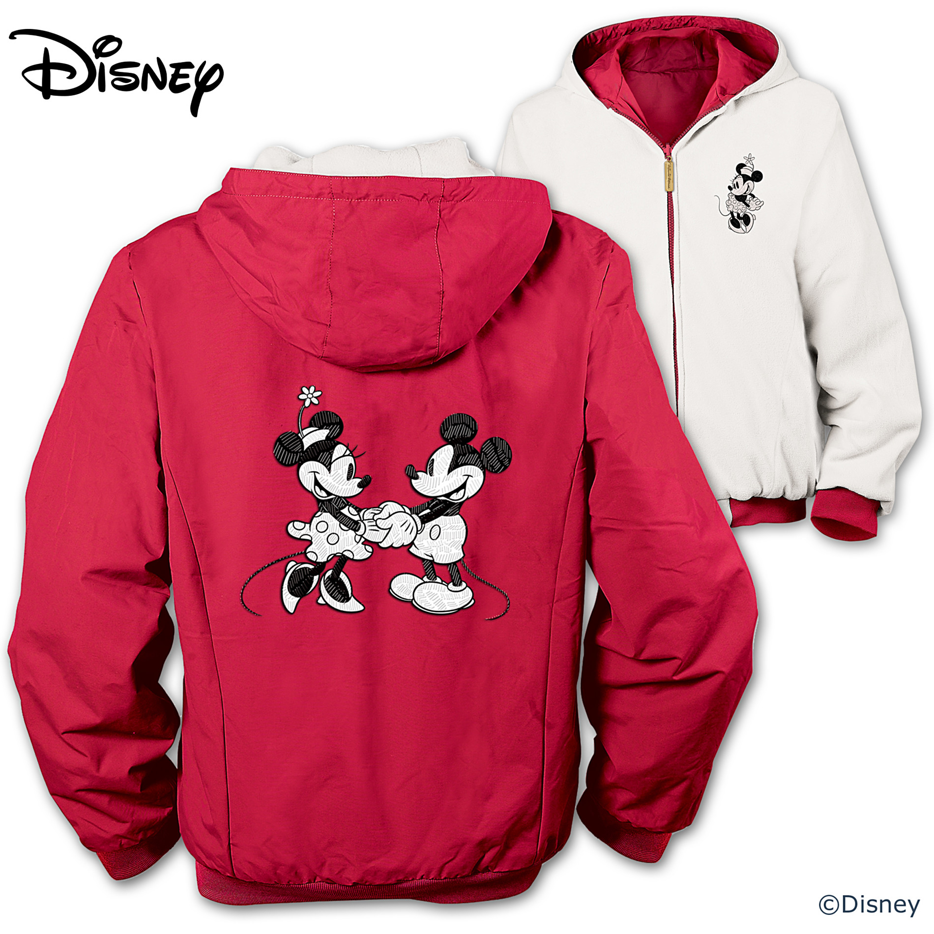 The Bradford Exchange Disney Double The Magic Women's Reversible Jacket at Sears.com
