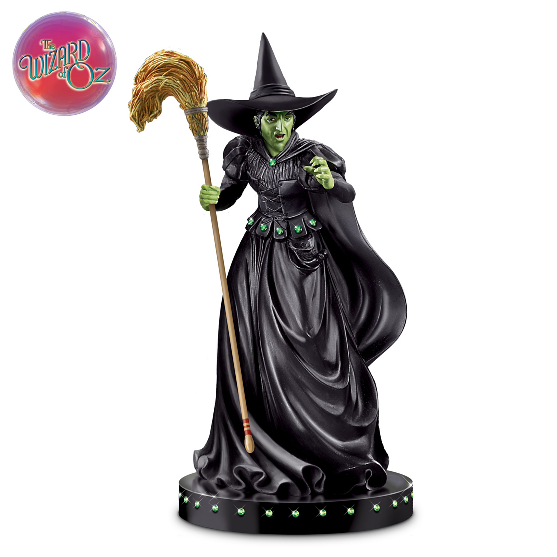 The Bradford Exchange The Wizard Of Oz ???Wicked Witch Of The West??? Glow-In-The-Dark Sculpture at Sears.com