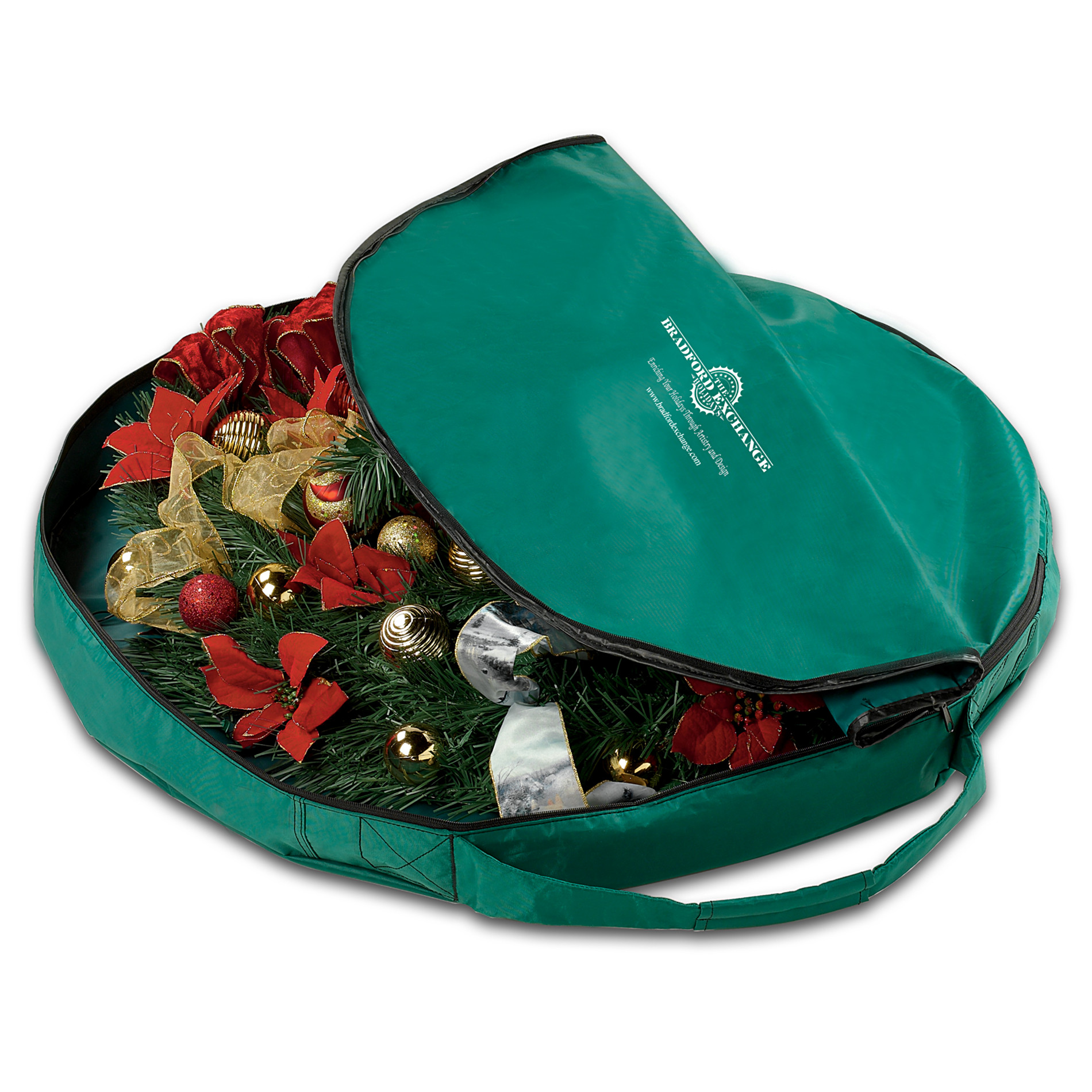 "The Bradford Exchange The ""2-Ft. Pull-Up Tree"" Heavy Duty Zippered Bag at Sears.com"