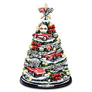 The Bradford Exchange Corvette Tabletop Christmas Tree: Oh What Fun It Is To Drive at Sears.com