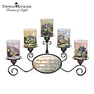 The Bradford Exchange Thomas Kinkade Light Of Home Candleholder Set at Sears.com