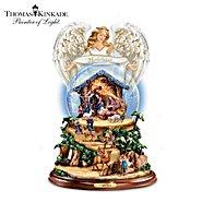 The Bradford Exchange Thomas Kinkade Nativity Snowglobe: O Night Divine at Sears.com
