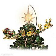 The Bradford Exchange Officially Licensed Green Bay Packers Holiday Pride Super Bowl XLV Rotating Tree Topper at Sears.com