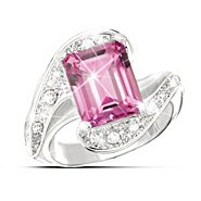 The Bradford Exchange Passion Pink Topaz Ring at Sears.com