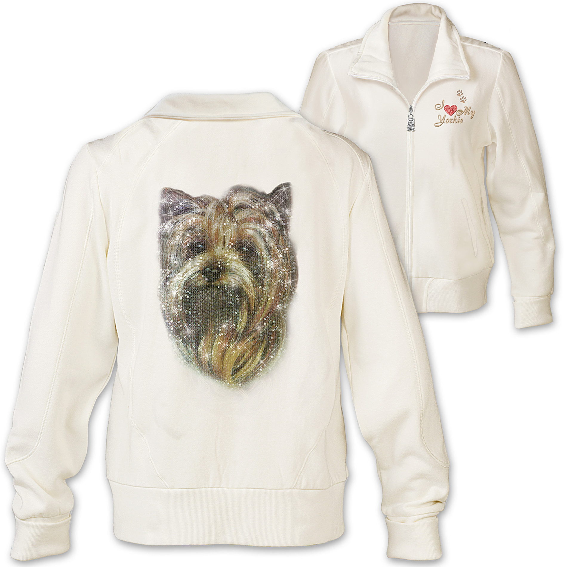 The Bradford Exchange Women's Jacket: Doggone Cute Yorkie at Sears.com
