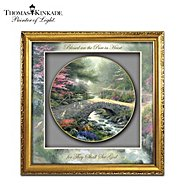 The Bradford Exchange Shadowbox: Thomas Kinkade Inspirations Of Grace Shadowbox Collector Plate at Sears.com