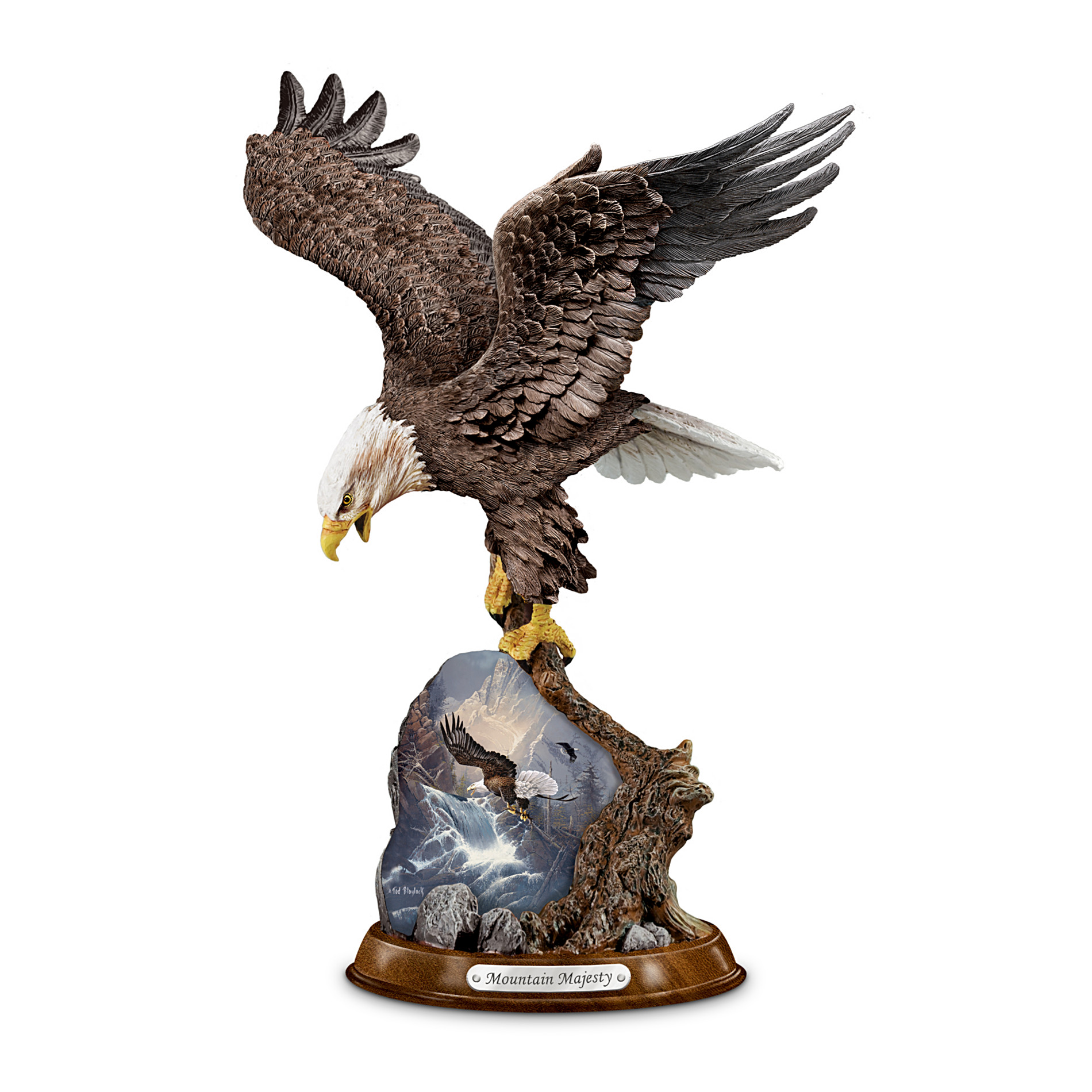 The Bradford Exchange Eagle Sculpture: Mountain Majesty at Sears.com