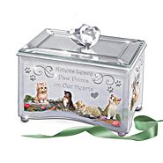 The Bradford Exchange Purr-fect Reflections Of Love Kitten Lovers Music Box at Sears.com