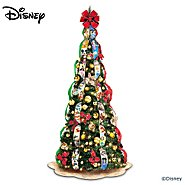 The Bradford Exchange Ultimate Disney Wondrous Christmas Pre-Lit Pull-Up Christmas Tree at Sears.com