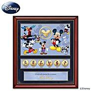 The Bradford Exchange 85th Anniversary Wall Decor: Disney Mickey Mouse Commemorative Print at Sears.com