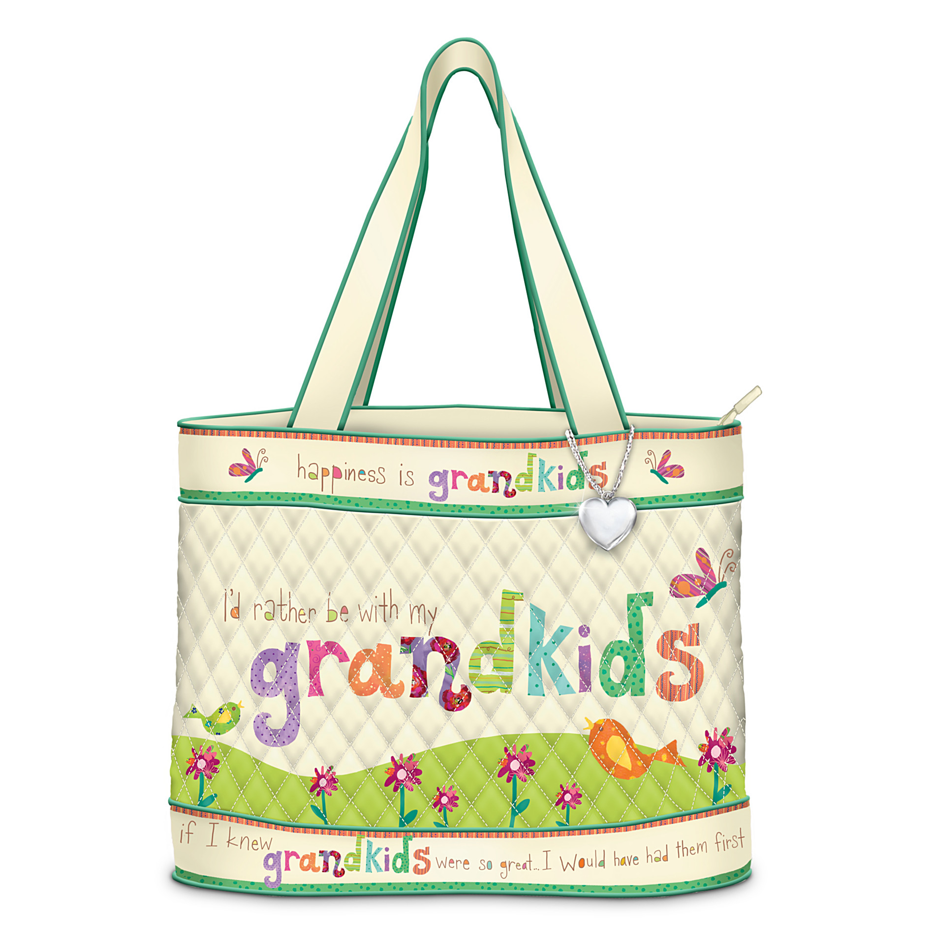 The Bradford Exchange Grandmother Tote Bag: Grandkids Rule! at Sears.com