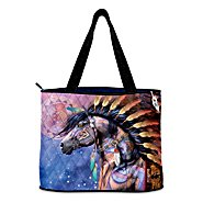 The Bradford Exchange Spirit Of The Painted Pony Tote Bag at Sears.com
