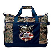 The Bradford Exchange USMC Duffel Bag: Semper Fi Pride at Sears.com