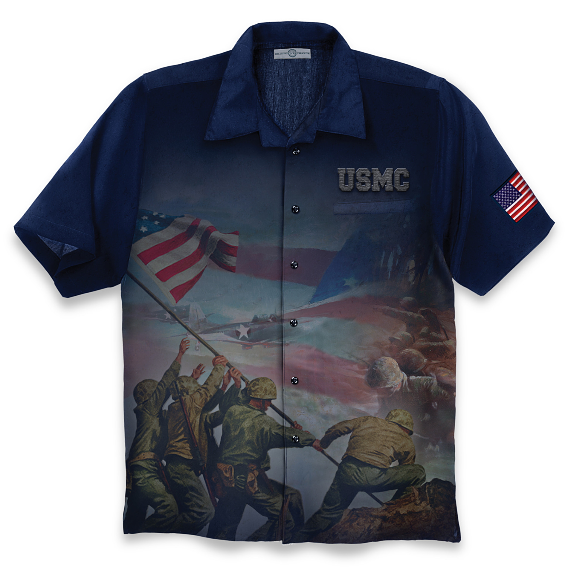 The Bradford Exchange Men's Shirt: USMC Marine Pride at Sears.com