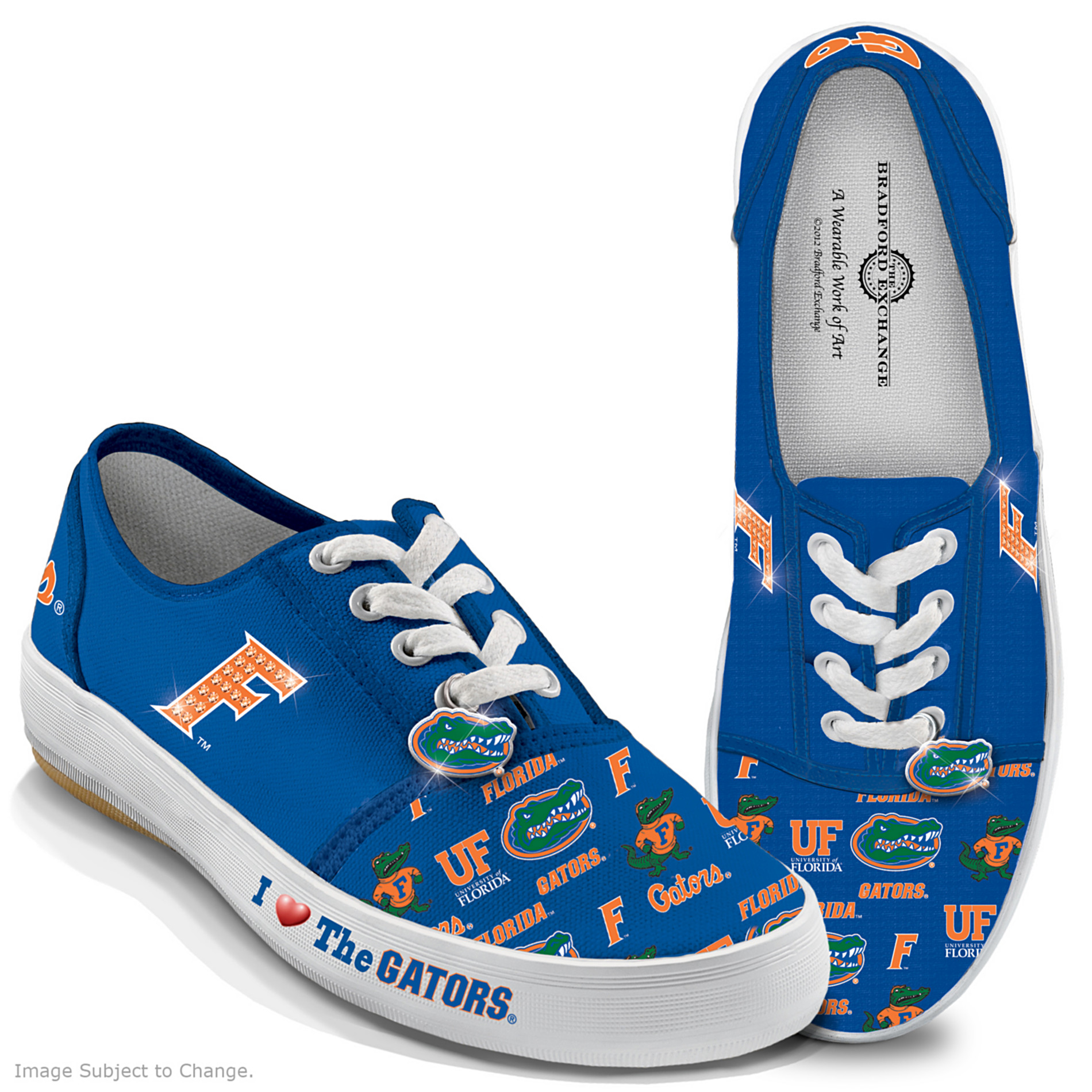 The Bradford Exchange University Of Florida Gators Women's Shoes: I Love The Gators at Sears.com
