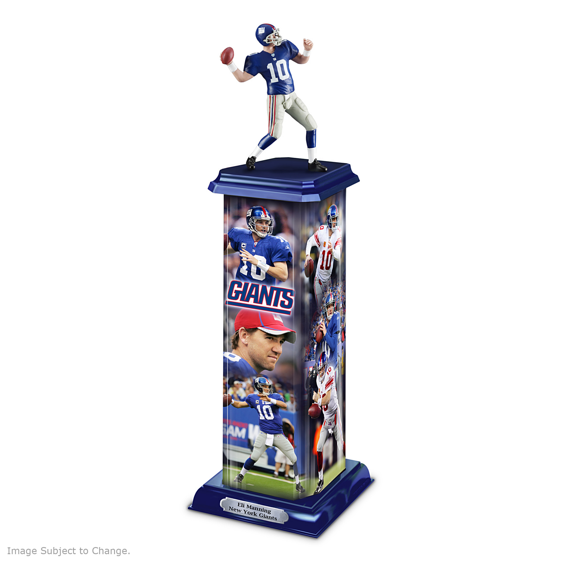The Bradford Exchange NFL Trophy Sculpture: Eli Manning Legend In Action at Sears.com